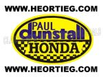Paul Dunstall Honda Tank and Fairing Transfer Decal DDUN5-8